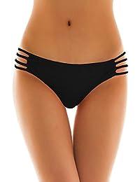 SHEKINI Sexy String tanga Maillots de bain Femme Brésilien Bas de Maillot Femme Thong Panty Bikini Bottom Slip de Bain
