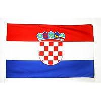 BANDERA de CROACIA 150x90cm - BANDERA CROATA 90 x 150 cm - AZ FLAG