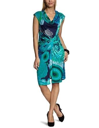Desigual Vest Azucena Wrap Women's Dress Midnight Size 10