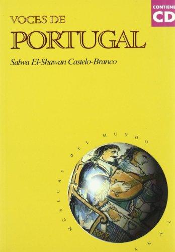Portada del libro Voces de Portugal  (con CD) (Músicas del mundo)