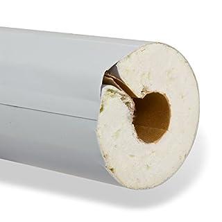 NMC PU-R Rohrisolierung ISOTUBE035 22mm x 20mm 1m 100% EnEV-konform Isolierschlauch Rohrdämmung Rohrisolation Heizung