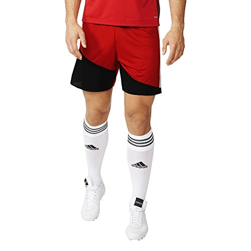 adidas Herren Regista 16 Shorts Power Red/White/Black