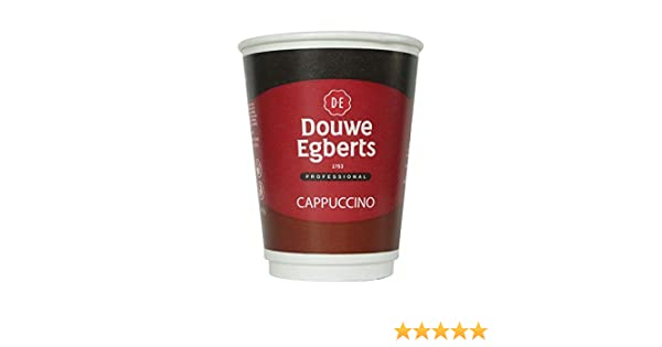 Kenco2Go Instant Cappuccino Coffee Drink in a 12oz (340ml) Cup Ref A03289 [Pack 8]