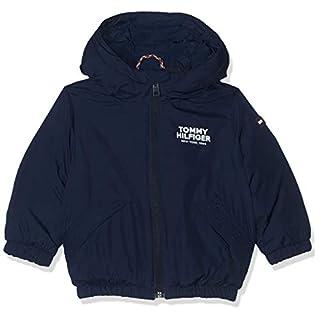 Tommy Hilfiger Dg TJM Jacket Manteau, Bleu (Black Iris 002), 74 Bébé garçon