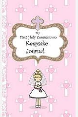 My First Holy Communion Keepsake Journal Hardcover