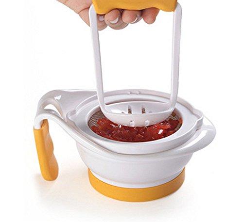 JUNGEN Baby Feeder Essen Schleifen Schüssel Hand Frucht Juicer Knoblauchpresse Lebensmittelschleifscheiben