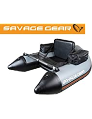 Savage Gear High Rider Belly Boat 150 – Belly Barco para pesca barco en el lago & Mar, manguera Boot, bellyboat, Belly Boot