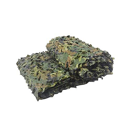 DYFYMXParasol Filet de camouflage imprimé Filet anti-aérien Filet de camouflage Filet d'ombrage (Couleur : A, taille : 4 * 5m)