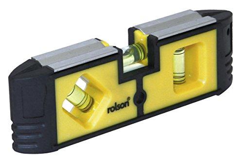 Rolson 54114 Magnetische Mini-Wasserwaage