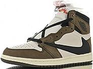 Jordan 1 Retro High Travis Scott Basketball Sneakers Mens Womens Unisex Shoes Size 15 8.5 12