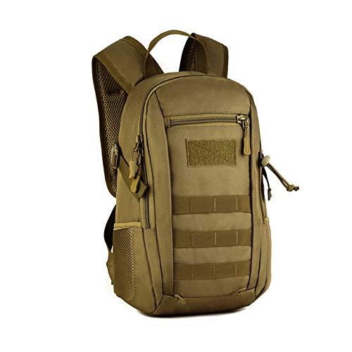 szlsl88 Rucksack 12L Militär Doppel Schulter Reflektierende Wandern Durable wasserdichte Klettern Mini Camouflage Schultasche Outdoor Soft Camping(2) -