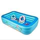 HETAO Kreativität Kinder Aufblasbare Pool Aufblasbare Paddeln/Schwimmbad Baby Familie Drama Pool Ultra Große Erwachsene Verdickt, 200*150*66cmfor outdoor Geschenk