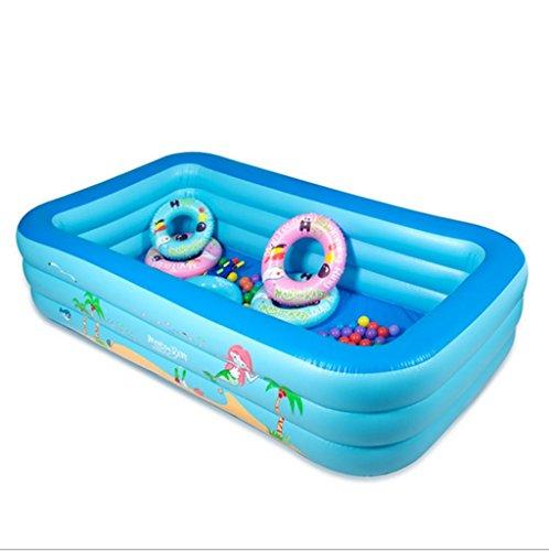 Mustbe strong Kinder Aufblasbare Pool Aufblasbare Paddeln / Schwimmbad Baby Familie Drama Pool Ultra Große Erwachsene Verdickt , 160*115*66cmfor Outdoor
