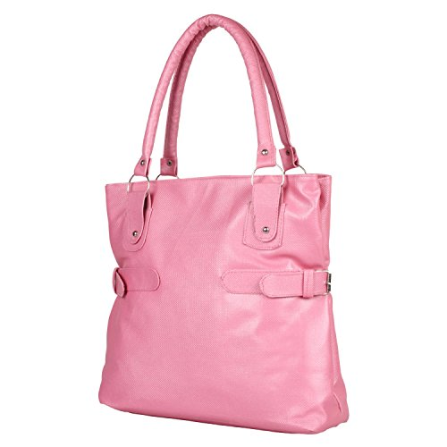 Glory Fashion Women\'s Stylish Handbag Pink-AK-248