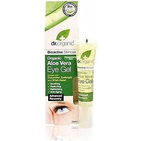 Dr Organic Aloe Vera Eye Gel 15ml by Dr.