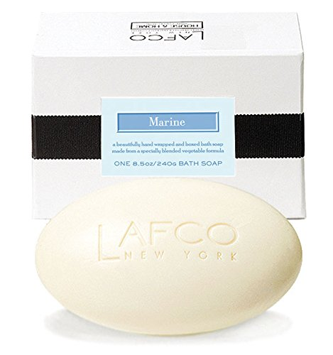 LAFCO House & Home Bath soap - Marine - 8.5 oz by Lafco - Creme Gefräst Seife