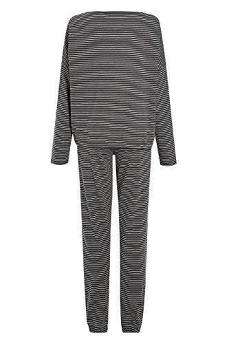 next Femme Pyjama Rayé Gris