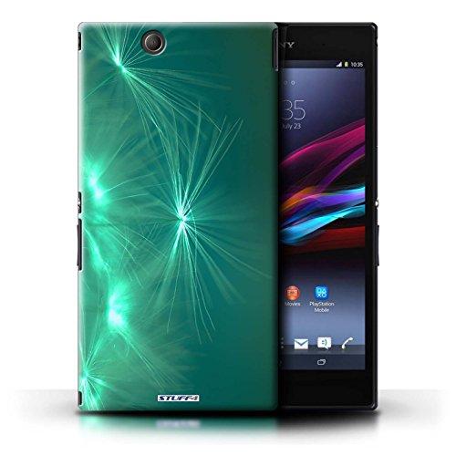 Kobalt® Imprimé Etui / Coque pour Sony Xperia Z Ultra / Rouge conception / Série Allumez la vie Turquoise