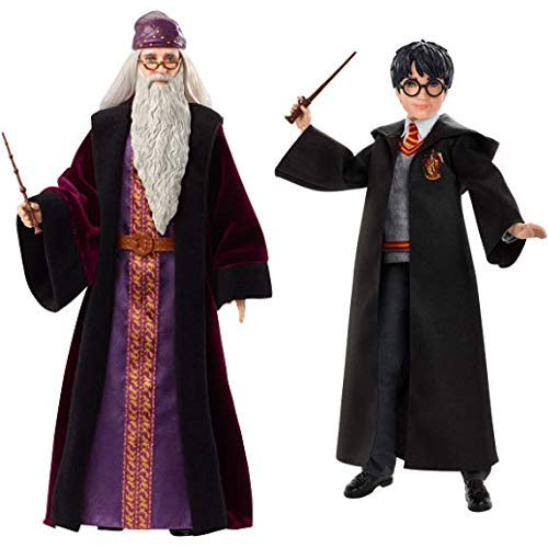 Mattel FYM54 - Harry Potter Dumbledore Puppe