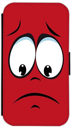 Kuna Flip Cover für Apple iPhone 5 / 5s Design K287 Paris Eifelturm Hülle aus Kunst-Leder Handy Tasche Etui mit Kreditkartenfächern Schutzhülle Case Wallet Buchflip Rückseite Schwarz Vorderseite Bedru K288