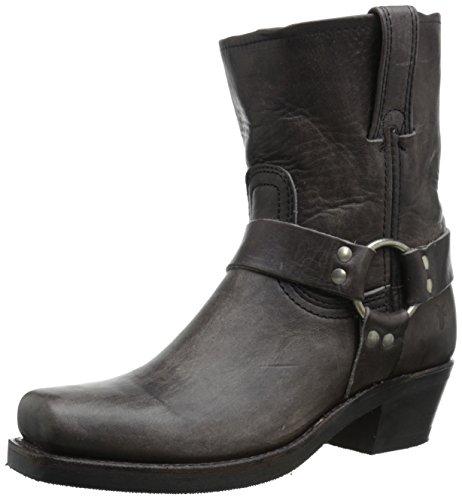 FRYE Women's 8R-Wshovn Harness Boot, Smoke, 11 M US 8r-boot