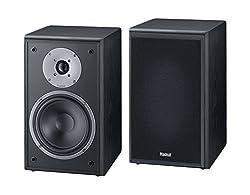 Magnat Monitor Supreme 202 I 1 Paar Regallautsprecher mit hoher Klangqualität I Passiv-Lautsprecherbox mit anspruchsvollem HiFi-Sound - Schwarz