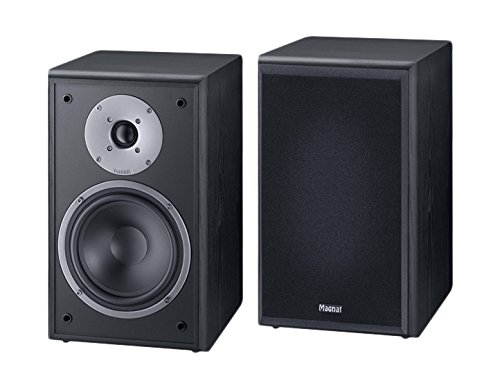 Magnat Monitor Supreme 202 - Altavoces de estantería (Hi-Fi, 93 dB, 100 W RMS), Color Negro