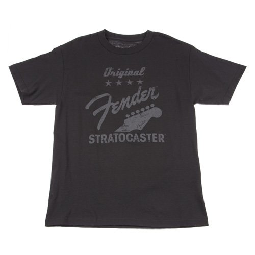 Fender Original Strat Maglietta Nero XL Nero