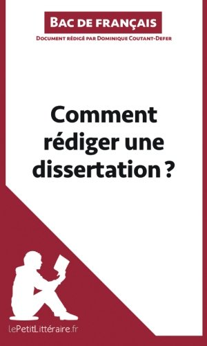 dissertation de francais methodologie Vous devez réaliser un mémoire de fin d'étude, une dissertation, une analyse ou un commentaire le principal problème est de savoir comment le faire.