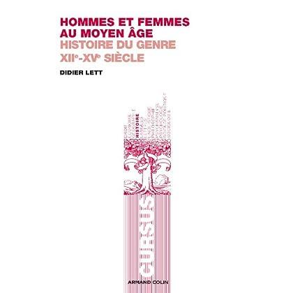 Hommes et femmes au Moyen Âge : Histoire du genre XIIe-XVe siècle (Cursus)