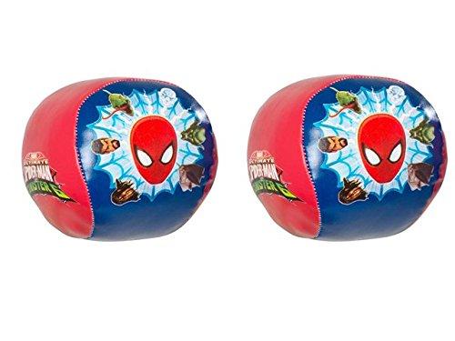 Ultimate Spiderman 9cm Soft Ball-Pack von 2 -