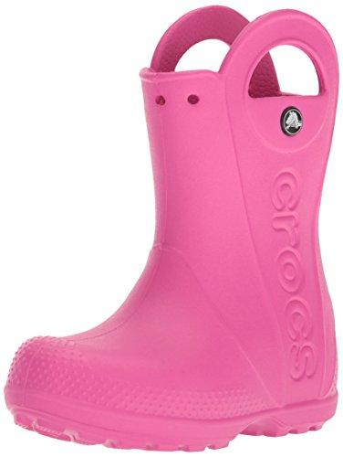 crocs Gummistiefel Handle It Rain Boot Kids - Fuchsia, Größe:34-35