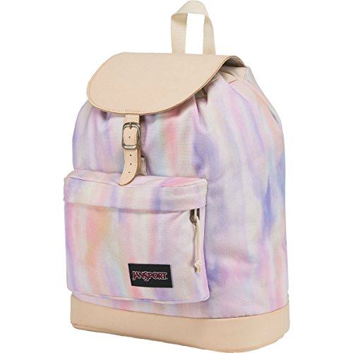 Jansport - - Unisex-Erwachsener Haiden Rucksack, O/S, Sunkissed Pastel Poly Canvas (Jansport Canvas Rucksack)