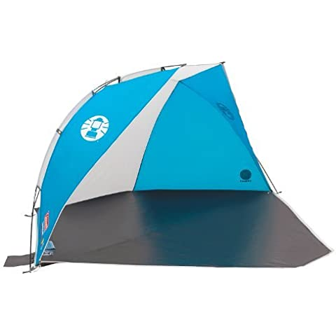 Coleman Sundome Beach Shelter with UV Guard - Blue/White by Best Price Square
