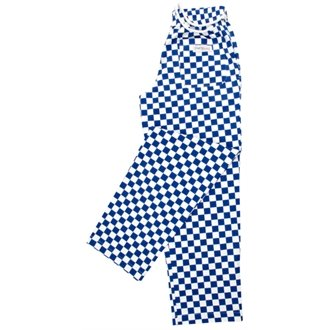 nextday-catering-a043-m-easyfit-pantalones-big-check-100-algodn-tamao-mediano-color-azul