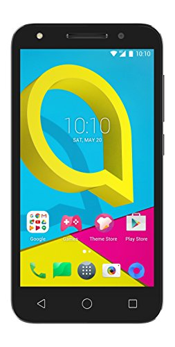 Alcatel U5 4G (4 núcleos, 8MPx, 8Gb, Dual SIM), Color Negro