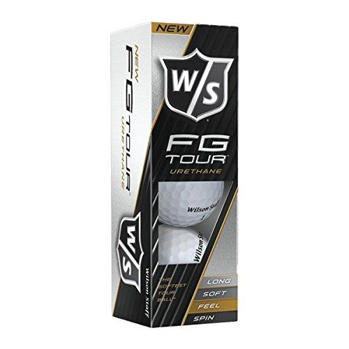 2014 Wilson Staff FG Tour Balles de golf 12Balles- Blanc