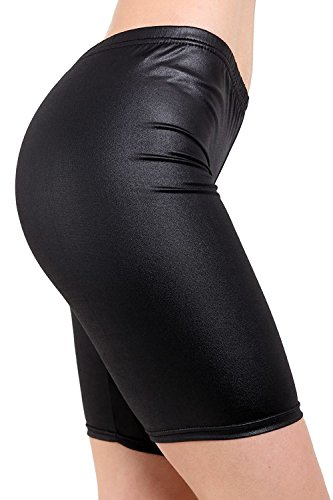 Vanilla Inc - Short - Femme Black PVC