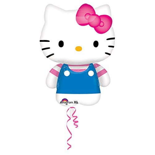 Amscan International Hello Kitty Summer Fun (Hello Halloween Kostüm Kitty)