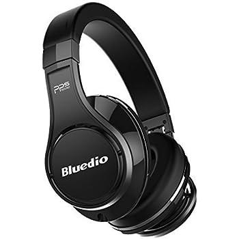 Bluedio U (UFO) Cuffie Bluetooth Auricolari Bluetooth Cuffie Wireless&wired Over-Ear Con Microfono(Nero)