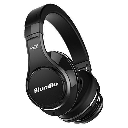 Lo más barato Bluedio U (UFO) Serie de fe auriculares diadema bluetooth auriculares estudio hifi efecto 3d (Negro)