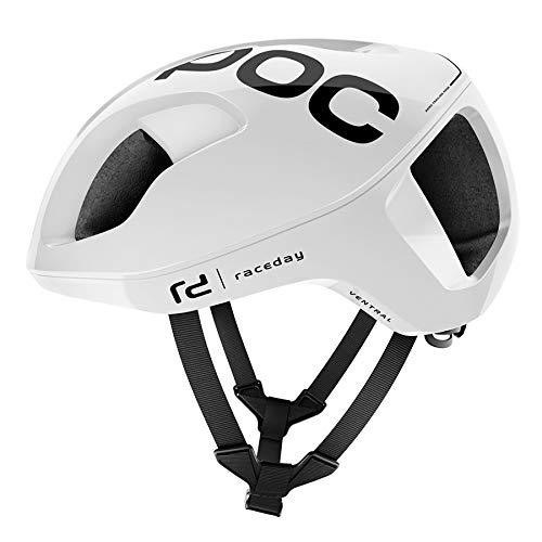 POC Ventral Spin Helmet hydrogen White Raceday Kopfumfang L | 56-62cm 2019 Fahrradhelm