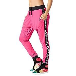 zumba fitness damen when the sun goes down mesh jogger pants frauenhose sport freizeit. Black Bedroom Furniture Sets. Home Design Ideas