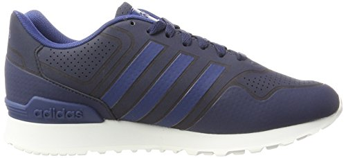 adidas 10k Casual, Chaussures de Running Homme Bleu (Collegiate Navy/Rose Crystal White/Mystery Blue)