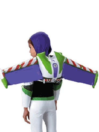 Amigos Kostüm Drei - Toy Story Buzz Lightyear Child Costume Prop Jet Pack
