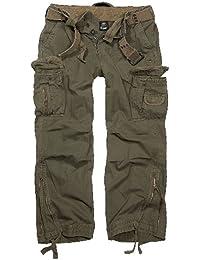 Brandit Royal Vintage Trousers Freizeithose schwarz
