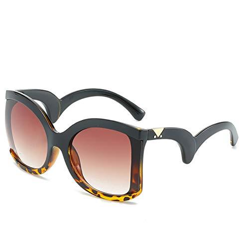 Platz Elegante Damen Sonnenbrille Damen Luxus Big Sonnenbrillen Weibliche Jahrgang Shades Brillen, 5