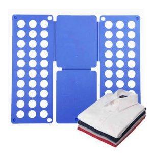 Adult Magic Clothes Tshirts Folder Organizer Flip Fold Test