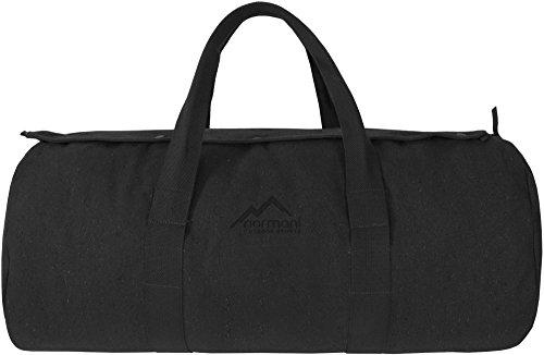 Canvas Seesack Universal Tasche aus reiner Baumwolle Anthrazit