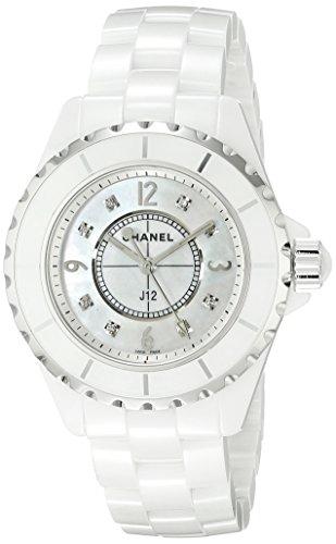 Chanel H2422 - Orologio da polso, cinturino in ceramica